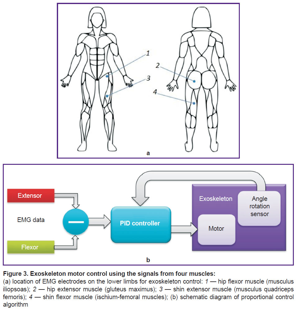 Html View Modern Technologies In Medicine Figure 9 Block Diagram Of Emg Signal Via Human Finger After Applying Khoruzhko Fig 3 Exoskeleton Motor Control Using The Signals From